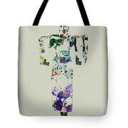 Japanese Dance Tote Bag