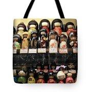 Japanese Dolls Tote Bag
