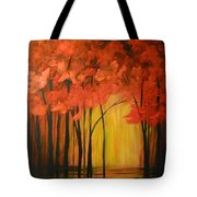 Japanese Forest Tote Bag