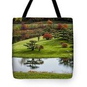 Japanese Garden Autumn Tote Bag