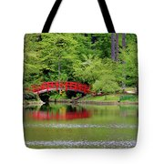 Japanese Garden Bridge  Tote Bag