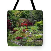 Japanese Garden II Tote Bag