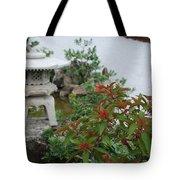 Japanese Garden Lantern Tote Bag