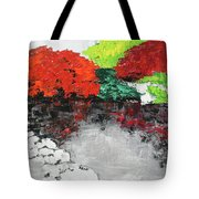 Japanese Garden Norfolk Botanical Garden 201818 Tote Bag