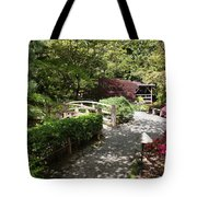 Japanese Garden Path With Azaleas Tote Bag
