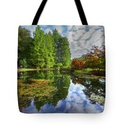 Japanese Garden Pond I Tote Bag