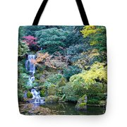 Zen Japanese Garden Tote Bag