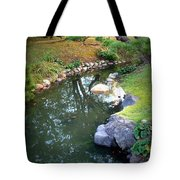 Japanese Garden Reflection Tote Bag