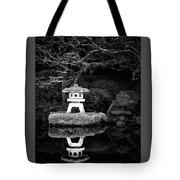 Japanese Garden Reflection Tote Bag