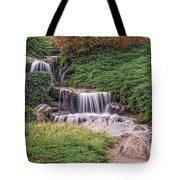 Japanese Gardens Waterfall Tote Bag