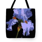 Japanese Iris-blue Beauty Tote Bag