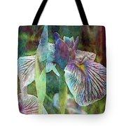 Japanese Iris Tall 2694 Idp_4 Tote Bag