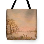Japanese Light In Remembrance Of Aert Van Der Neer Tote Bag