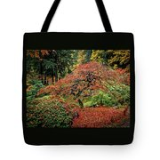 Japanese Maple At The Japanese Gardens Portland Tote Bag