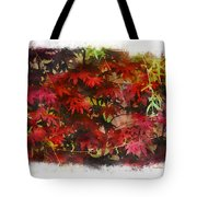 Japanese Maple Under The Willow Tote Bag