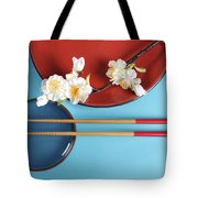 Japanese Oriental Place Setting Tote Bag