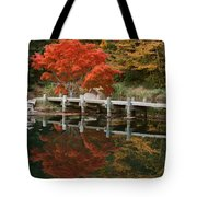 Japanese Reflection Tote Bag