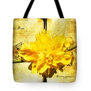 Japanese Rose  Tote Bag