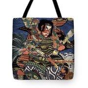 Japanese Samurai Tote Bag