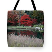 Japanese Serenity Tote Bag