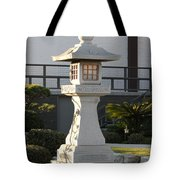 Japanese Stone Pagoda Tote Bag