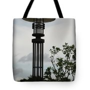 Japanese Street Lamp Tote Bag