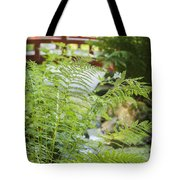 Japanese Style Garden Tote Bag