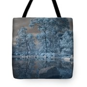Japanese Tea Garden Infrared Center Tote Bag