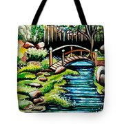 Japanese Tea Gardens Tote Bag