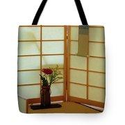 Japanese Tea House Tote Bag
