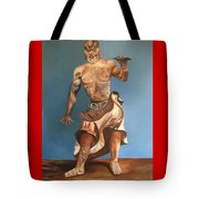 Japanese Temple Guard Tote Bag