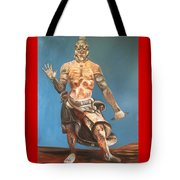 Japanese Templeguard Tote Bag