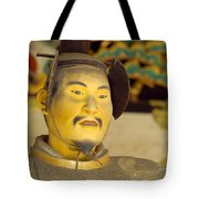 Japanese Warrior Tote Bag
