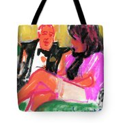 Jacque And Christine Tote Bag