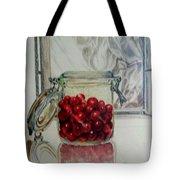 Jar Of Cherries Tote Bag