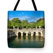 Jardins De La Fontaine Nimes Tote Bag