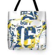 Jared Goff Los Angeles Rams Pixel Art 2 Tote Bag