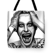 Jared Leto As The Joker Tote Bag