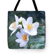 Jasmin Flower Tote Bag