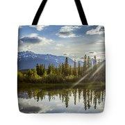 Jasper Glory Rocky Mountain View Tote Bag
