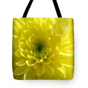 Yellow Luminosity  Tote Bag