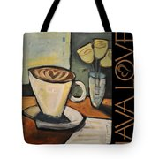 Java Love Poster Tote Bag