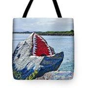 Jaws - Beach Graffiti Tote Bag