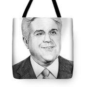 Jay Leno Tote Bag