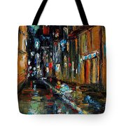 Jazz Alley Tote Bag