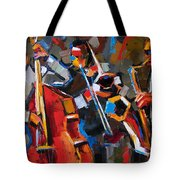 Jazz Angles Tote Bag