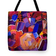 Jazz Angles Two Tote Bag