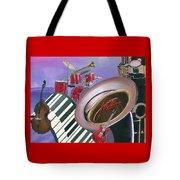 Jazz At Sunset Tote Bag