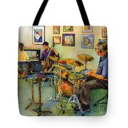 Jazz At The Gallery Tote Bag