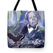 Jazz B B King 01 Tote Bag